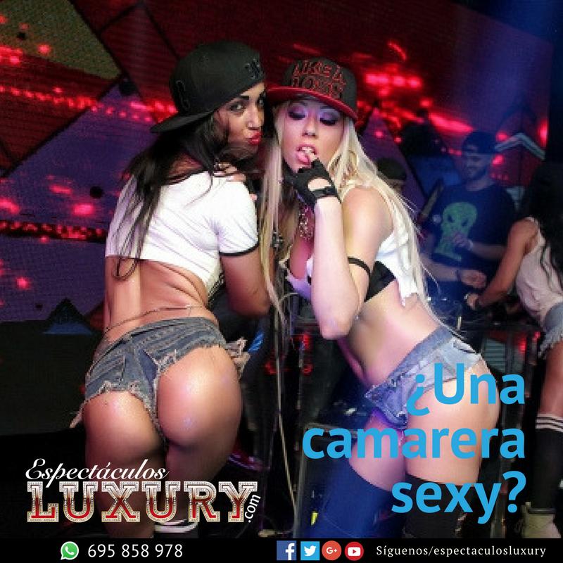 camarera sexy + stripper