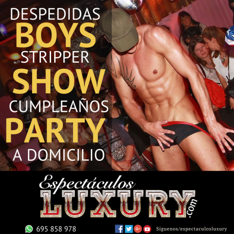 boys strippers en Sevilla